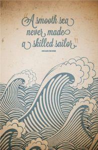 rough sea good sailor
