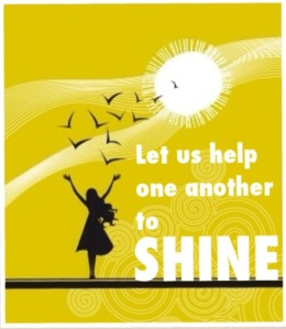 let's help each other shine